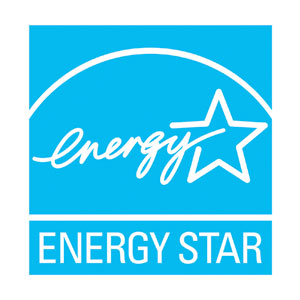Energy Star badge for energy efficient HVAC solutions