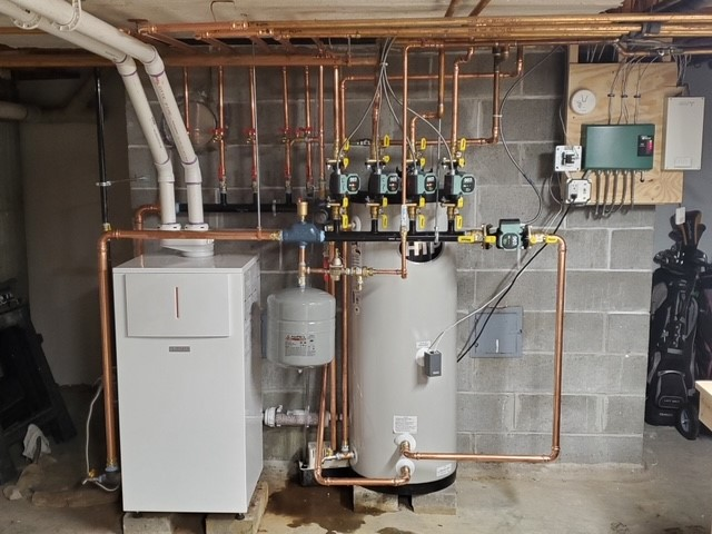 New furnace installation in Marlborough, MA