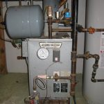 Before boiler furnace replacement
