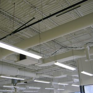 Ductwork for commercial HVAC installation